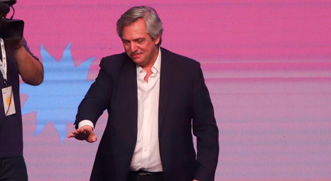 Alberto Fernández ganó en primera vuelta y será el nuevo presidente de la Nación