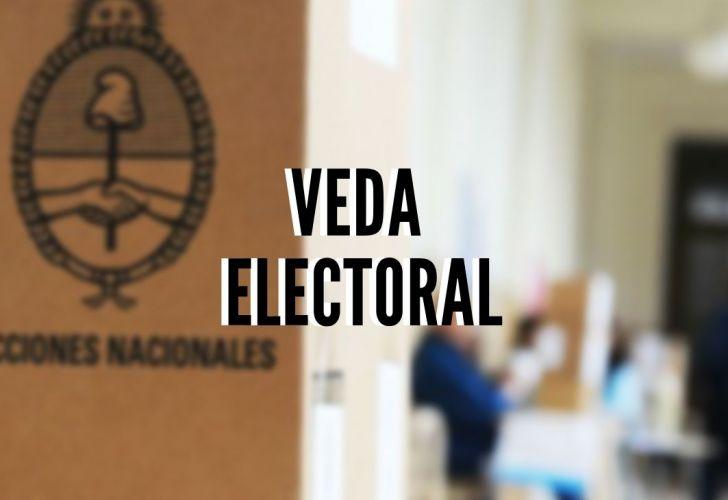 Rige la veda electoral