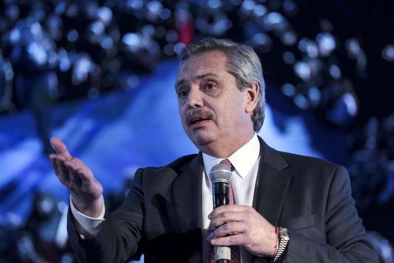 Tras la charla de Alberto con el FMI, suben los bonos argentinos en dólares