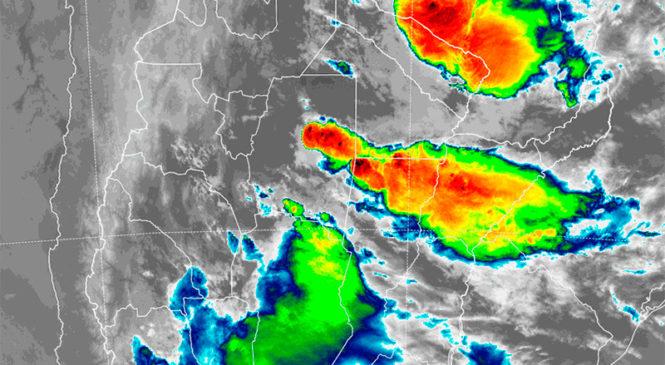 centro y norte del país están en alerta por tormentas