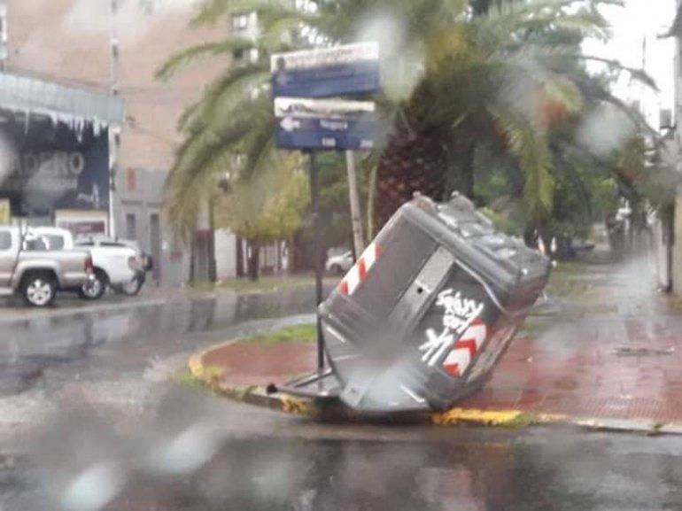 Tareas de la Municipalidad por el temporal