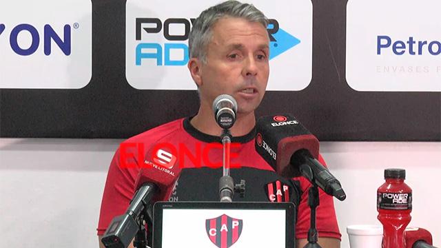 """Gustavo Álvarez asumió en Patronato: """"Para salvarnos del descenso intentaremos jugar mejor"""""""