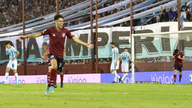 Lanús se subió a la punta de la Superliga