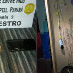 A los tiros Balearon casa en Paraná, les incautaron dos kilos de cocaína y no los detuvieron