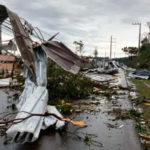 Temporal provoca estragos em Santa Catarina