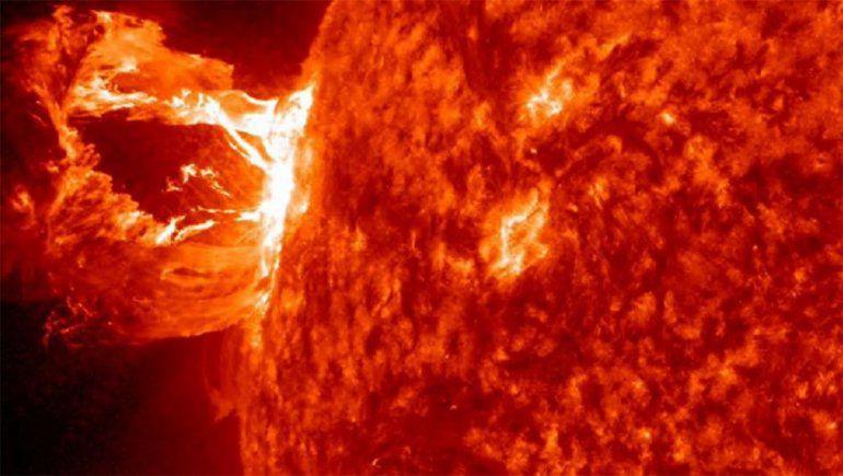 Una tormenta solar podría afectar las comunicaciones y la red eléctrica