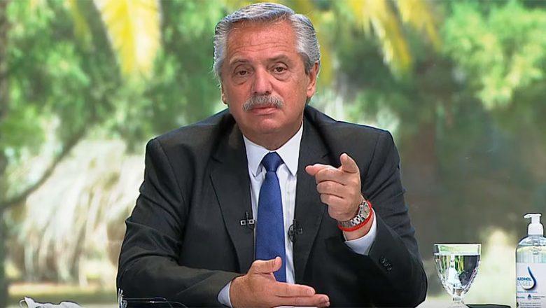"""Alza de precios: Fernández dijo que podría """"subir las retenciones o poner cupos"""""""