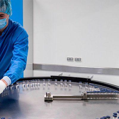 vacuna rusa Sputnik V comenzó a producirse en el país