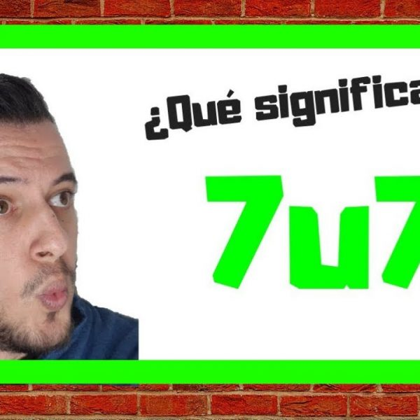 WhatsApp: qué significa '7u7' y cuándo usarlo